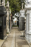 Rua interna de Recoleta Fotos de Stock Royalty Free
