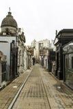Rua interna de Recoleta Imagem de Stock Royalty Free