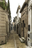 Rua interna de Recoleta Foto de Stock