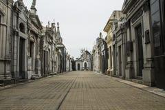 Rua interna de Recoleta Imagens de Stock Royalty Free