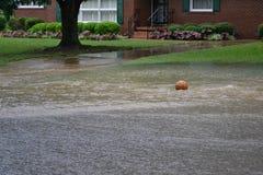 Rua inundada Imagem de Stock Royalty Free