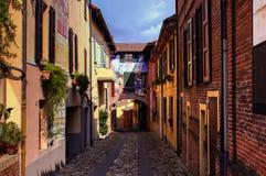Rua italiana Fotos de Stock