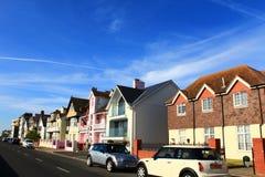 Rua Kent United Kingdom da cidade do negócio Foto de Stock Royalty Free