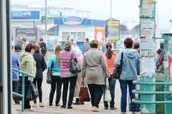 Rua Komsomolskaya de Bratsk Fotografia de Stock