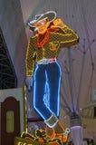 Rua Las Vegas de Freemont foto de stock