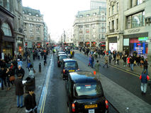 Rua Londres de Oxford Imagens de Stock