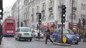 Rua Londres de Oxford vídeos de arquivo