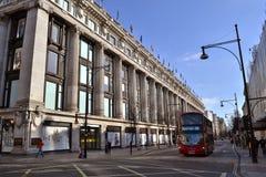 Rua Londres de Selfridges Oxford foto de stock