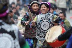 Rua longa do hani de China do partido Imagem de Stock Royalty Free