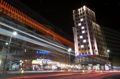 A rua a mais famosa da Sérvia em Belgrado Fotos de Stock