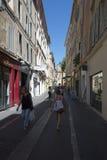 Rua Maréchal Foch, Aix-en-Provence, França Fotos de Stock