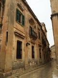 Rua medieval Imagens de Stock