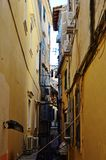 Rua medieval Foto de Stock Royalty Free