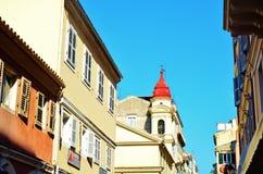 Rua medieval Fotografia de Stock Royalty Free