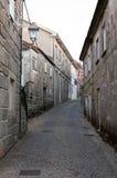 Rua medieval histórica Imagem de Stock Royalty Free