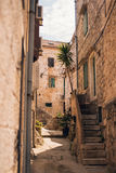 Rua mediterrânea Fotografia de Stock Royalty Free