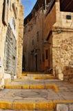 Rua mediterrânea antiga Imagem de Stock