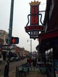Rua Memphis Tennessee de Beale Imagem de Stock Royalty Free