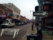 Rua Memphis Tennessee de Beale Foto de Stock Royalty Free