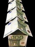 Rua monetária Fotos de Stock Royalty Free