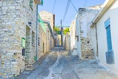 A rua montanhosa Fotografia de Stock