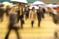 Rua movimentada Imagens de Stock