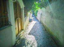 rua 22-Narrow Fotos de Stock