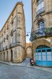 Rua no Bordéus, França fotografia de stock