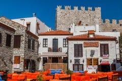 Rua no centro histórico de Marmaris Fotografia de Stock Royalty Free