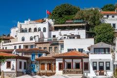 Rua no centro histórico de Marmaris Fotos de Stock