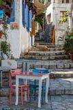 Rua no centro histórico de Marmaris Foto de Stock Royalty Free