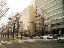 Rua no umeda japão foto de stock royalty free