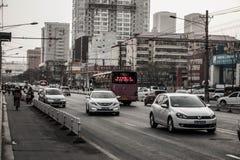 Rua normal em taiyuan Imagens de Stock