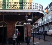 Rua Nova Orleães Louisiana de Bourbon Imagem de Stock