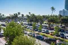 Rua pública em Miami Beach, Florida Imagem de Stock Royalty Free