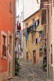 Rua pequena de Lisboa Imagem de Stock Royalty Free