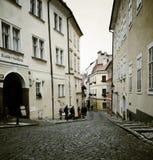Rua Praga Foto de Stock Royalty Free