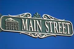Rua principal Fotos de Stock