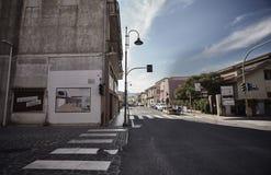 Rua principal de Muravera Fotos de Stock