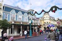 Rua principal do mundo de Walt Disney Imagem de Stock