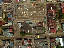 A rua principal em fresno Tolima fotografia de stock royalty free