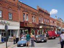 Rua principal vitoriano bem preservado Fotografia de Stock