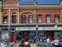 Rua principal vitoriano bem preservado Foto de Stock Royalty Free