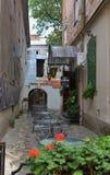 rua quieta de Lviv imagens de stock royalty free