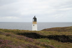 Rua Reidh Lighthouse in Gairloch Stock Foto's