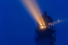 Rua Reidh Lighthouse, Scotland. Rua Reidh Lighthouse in evening light (Scotland Stock Photo