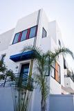 Rua residencial de Califórnia fotografia de stock royalty free