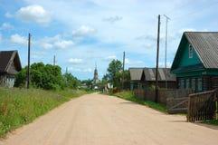Rua rural Imagem de Stock Royalty Free
