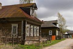 Rua rural do russo Imagem de Stock Royalty Free