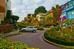 Rua San Francisco de Lombar Imagem de Stock Royalty Free